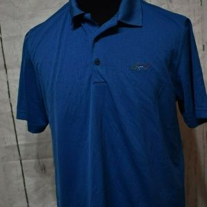 Greg Norman Attack Life Men's Embossed Logo Polo L